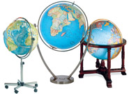 1-World Globes - Desk and Floor Globes