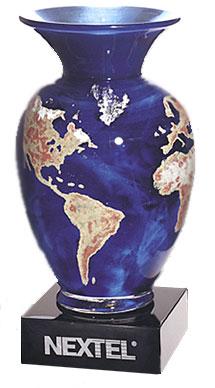 Vase The World.The World Vase Art Glass Award