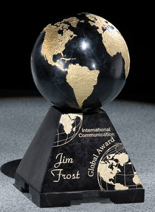 the Marble Globe Award - Corporate Award
