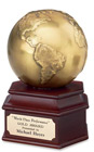 Antique Gold Globe Award