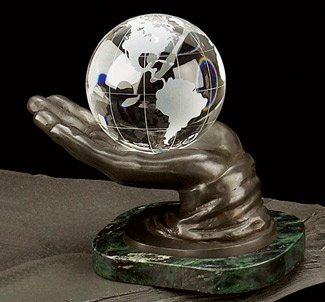 Bronze World in Hand Award - Corporate Award