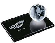 Global Award Paperweight