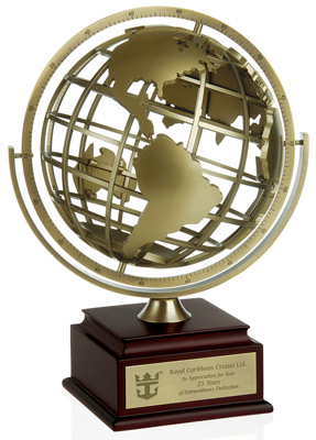 the Globetrotter Award - Recognition Award