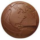 Chocolate Globes - Custom Corporate Gifts