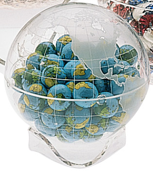 Plant-It Earth Acrylic Globe w/ Chocolates