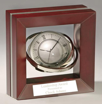 the Executive Gyro Gift Clock - Business Gift