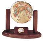 the Executive Globe and Gift Clock