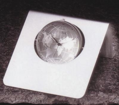 Kienzle Quartz World Clock Brushed Gold