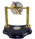 The Orbitor Globe Clock - Gift Clock