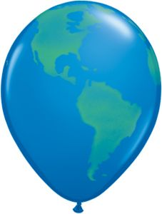 Custom Imprinted Globe Balloon
