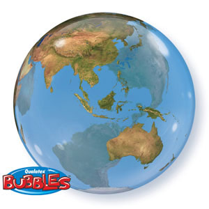 Satellite image earth balloons globe balloon helium globe balloons world balloons bubble balloon gumiabroncs Choice Image