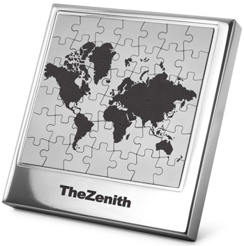 Stainless steel magnetic world map puzzle frame world map custom puzzle frame gumiabroncs Images