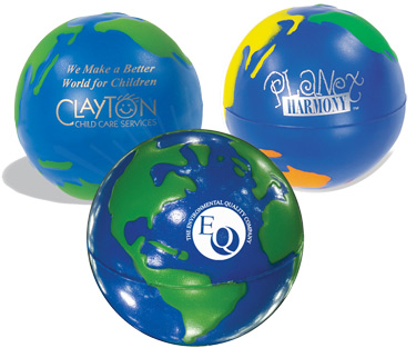 Promotional Gift - Customizable Stress Relief Globe Balls