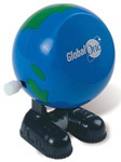Walking Globe - Wind Up Toy