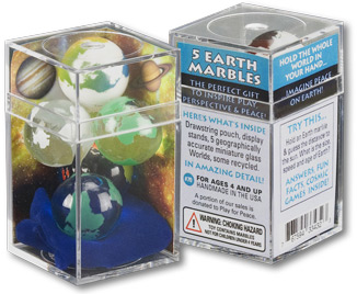 Cosmic Earth 5 Marble Set