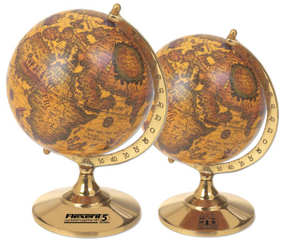 the Cartographica Old World Globe