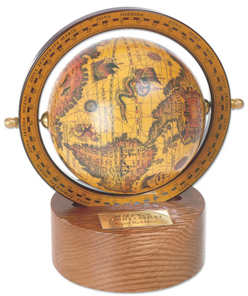 the Columbus Old World Globe