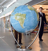 Extra Large World Globes - Floor Standing Globes